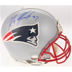Rob Gronkowski Signed New England Patriots Full-Size Authentic On-Field Helmet (JSA LOA)
