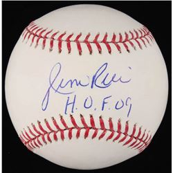 "Jim Rice Signed OML Baseball Inscribed ""H.O.F. 09"" (JSA COA)"