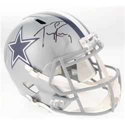 Tony Romo Signed Dallas Cowboys Full-Size Speed Helmet (JSA COA)