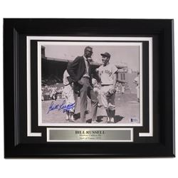 Bill Russell Signed Boston Celtics 11x14 Custom Framed Photo Display (Beckett COA)