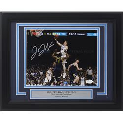 Donte DiVincenzo Signed Villanova Wildcats 11x14 Custom Framed Photo Display (JSA COA)