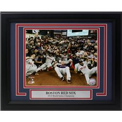 Boston Red Sox 2018 World Series Champions 11x14 Custom Framed Photo Display