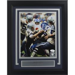 "Bob Lilly Signed Dallas Cowboys 11x14 Custom Framed Photo Display Inscribed ""HOF '80"" (JSA COA)"
