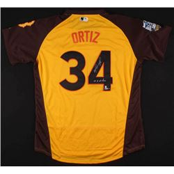 "David Ortiz Signed Boston Red Sox 2016 American League All-Star Game Jersey Inscribed ""10x All-Star"""