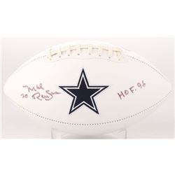 "Mel Renfro Signed Dallas Cowboys Logo Football Inscribed ""HOF 96"" (SGC COA)"