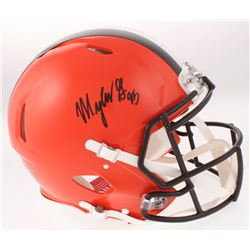 Myles Garrett Signed Cleveland Browns Full-Size Authentic On-Field Speed Helmet (JSA COA)
