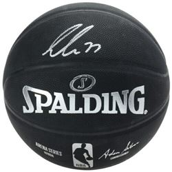 Luka Doncic Signed Official NBA Arena Series Black Basketball (Fanatics Hologram)