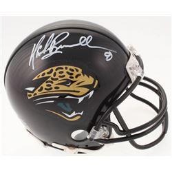 Mark Brunell Signed Jacksonville Jaguars Mini Helmet (Beckett COA)