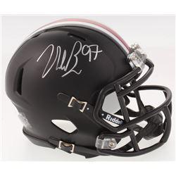 Nick Bosa Signed Ohio State Buckeyes Speed Mini Helmet (JSA COA)