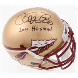 "Chris Weinke Signed Florida State Seminoles Mini Helmet Inscribed ""2000 Heisman"" (JSA COA)"