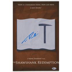 Tim Robbins Signed The Shawshank Redemption 11x17 Photo (Beckett COA)