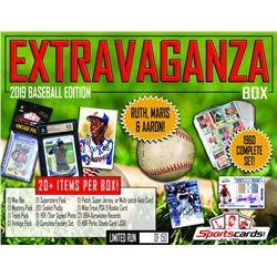 """EXTRAVAGANZA BOX - 2019 Baseball Edition"" Mystery Box - 20+ Items Per Box!"