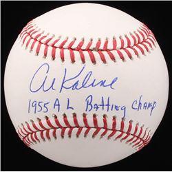 "Al Kaline Signed OML Baseball Inscribed ""1955 AL Batting Champ"" (JSA COA)"
