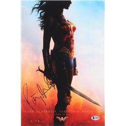 Patty Jenkins Signed Wonder Woman 10x15 Movie Poster Photo (Beckett COA)