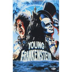 Mel Brooks Signed Young Frankenstein 11x17 Movie Poster Photo (Beckett COA)