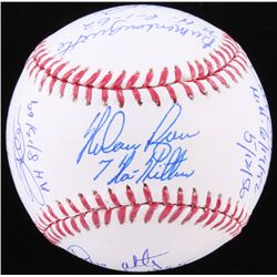 No-Hitter OML Baseball Signed by (10) with Jim Palmer, Bill Singer, Gaylord Perry, Ramon Martinez wi