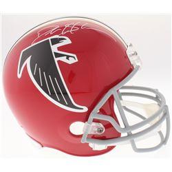 Deion Sanders Signed Atlanta Falcons Full-Size Helmet (JSA COA)