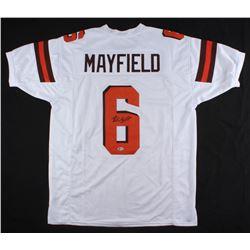 Baker Mayfield Signed Cleveland Browns Jersey (Beckett COA)