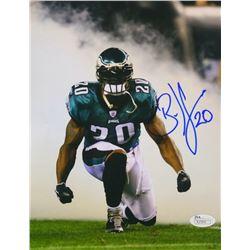 Brian Dawkins Signed Philadelphia Eagles 8x10 Photo (JSA COA)