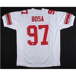 Nick Bosa Signed Ohio State Buckeyes Jersey (JSA COA)