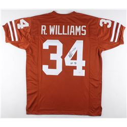 "Ricky Williams Signed Texas Longhorns Jersey Inscribed ""HT 98"" (JSA COA)"