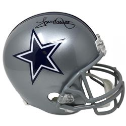Tony Dorsett Signed Dallas Cowboys Full-Size Helmet (JSA COA)