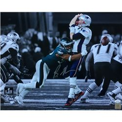 Brandon Graham Signed Philadelphia Eagles Super Bowl 52 16x20 Photo (JSA COA)