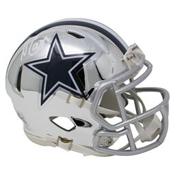 Amari Cooper Signed Dallas Cowboys Chrome Speed Mini Helmet (JSA COA)