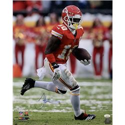 Tyreek Hill Signed Kansas City Chiefs 16x20 Photo (JSA COA)
