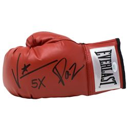 "Vinny Paz Signed Everlast Boxing Glove Inscribed ""5X""  ""2019"" (JSA COA)"