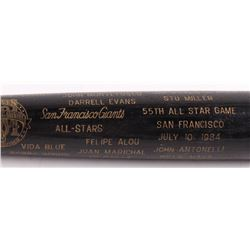 Louisville Slugger San Francisco Giants All-Stars Engraved Baseball Bat