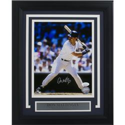 Don Mattingly Signed New York Yankees 11x14 Custom Framed Photo Display (JSA COA)