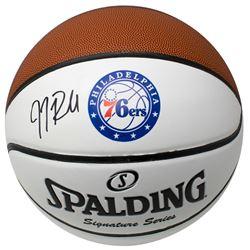 J.J. Redick Signed Philadelphia 76ers Logo Basketball (JSA COA)