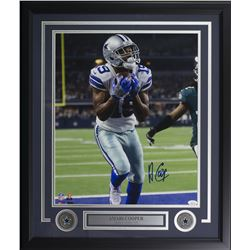 Amari Cooper Signed Dallas Cowboys 22x27 Custom Framed Photo Display (JSA COA)