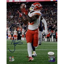 Tyreek Hill Signed Kansas City Chiefs 8x10 Photo (JSA COA)