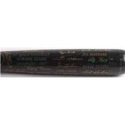 Louisville Slugger 1987 St. Louis Cardinals National League Champions Engraved Baseball Bat