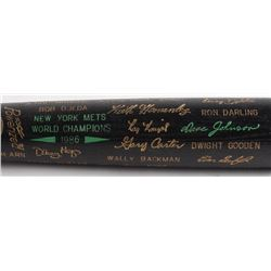 Louisville Slugger 1986 New York Mets World Champions Engraved Baseball Bat
