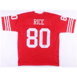 Jerry Rice Signed San Francisco 49ers Jersey (TriStar Hologram)