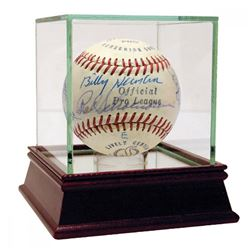 Hall of Famers  Stars Baseball Signed by (18) with Yogi Berra, Casey Stengel, Stan Musial  High Qual