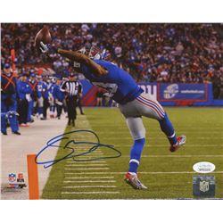 Odell Beckham Jr. Signed New York Giants 8x10 Photo (JSA COA)