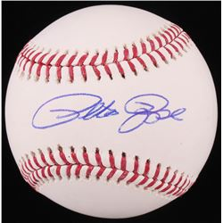 Pete Rose Signed OML Baseball (Fiterman Sports Hologram)