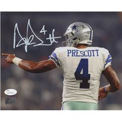 Dak Prescott Signed Dallas Cowboys 8x10 Photo (JSA COA  Prescott Hologram)