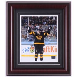 Torey Krug Signed Boston Bruins 14x16 Custom Framed Photo Display (Krug Hologram)