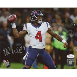 Deshaun Watson Signed Houston Texans 8x10 Photo (JSA COA)
