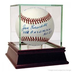 "Joe Sewell Signed OAL Baseball Inscribed ""3rd Baseman"", ""NY Yankees vs Chicago Cubs"", ""1932 World Se"
