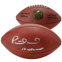 "Patrick Mahomes Signed ""The Duke"" Official NFL Game Ball Inscribed ""18 NFL MVP"" (Faantics Hologram)"