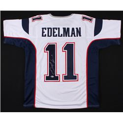 Julian Edelman Signed New England Patriots Jersey (Beckett COA)