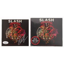 "Slash Signed ""Apocalyptic Love"" CD Album Case (JSA COA)"