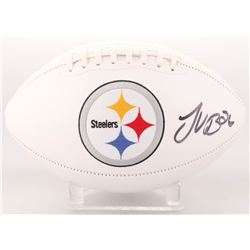 Le'Veon Bell Signed Pittsburgh Steelers Logo Football (JSA COA)