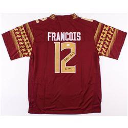 """Deondre Francois Signed Florida State Seminoles Jersey Inscribed """"Go noles"""" (JSA COA)"""